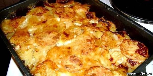 мясо свинины с картошкой в духовке