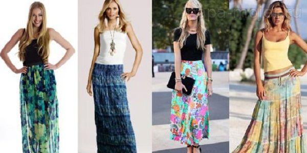 Пошить юбка на лето