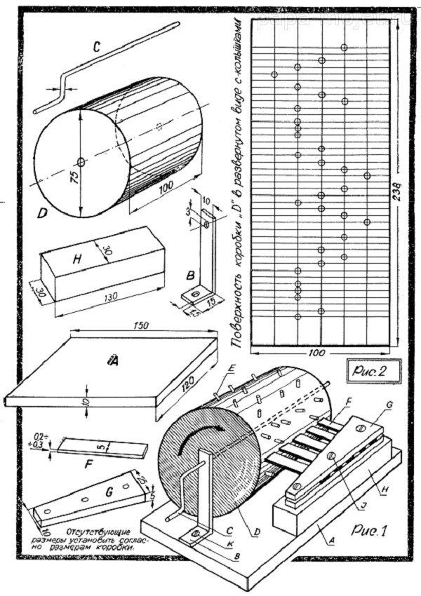 Как сделать механизм музыкальной шкатулки своими руками
